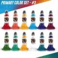 Набор пигментов Color Primary Set #3 - 12шт