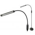 Светодиодная напольная лампа черная  LED Black Flex Arm