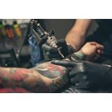 Этапы нанесения татуировки