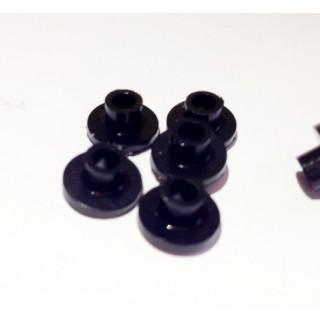 Нипеля черные (20 шт)