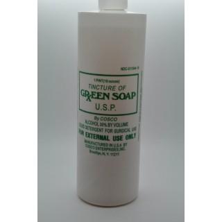 Зеленое Green Soap мыло 16 унций